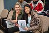 Students in the School of Public Health and Health Professions (SPHHP) PUB 320, led by Jessica Kruger, celebrate publishing a book in a classroom in Diefendorf Hall.<br /> <br /> Photographer: Douglas Levere