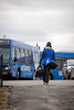 UB Bulls football team takes the Walk to Victory through the Murchie Family Football Facility as the team prepares for the Dollar General Bowl. <br /> <br /> Photographer: Meredith Forrest Kulwicki