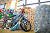 Adopt a Family present pickup hosted by Community Relations at Emeritus Center in Goodyear Hall on the South Campus.<br /> <br /> Photographer: Meredith Forrest Kulwicki