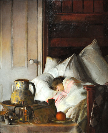 """Sick a-Bed"" (1916), by Elizabeth Okie Paxton"