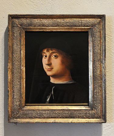 """Portrait of a Young Gentleman"" (1474), by Antonello da Messina"
