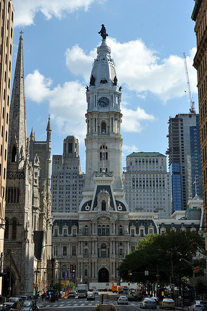Philadelphia City Hall, from Broad Street