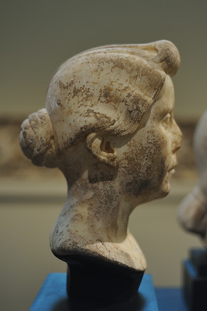 Head of a Roman Woman (c. 40-30 B.C.)