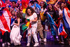 Images from International Fiesta 2019 with the theme 'Human Nature.' The event is organized by the International Council of the UB Student Association and took place March 9, 2019 in the Center for the Arts. Second Place: Latin American SA (LASA)<br /> <br /> Photographer: Meredith Forrest Kulwicki