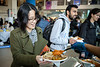 The World Bazaar, featuring food, performances and other activities by international student clubs, was part of the celebration of International Education Week. It was held in the Student Union in November 2019.<br /> <br /> Photographer: Meredith Forrest Kulwicki