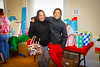 The Adopt a Family reception on Dec. 20 in Harriman Hall. For the 2019 event, 48 families in need had a merrier holiday season, thanks to the annual program organized by UB's Office of Community Relations. Forty-five UB departments sponsored families this year. <br /> <br /> Photographer: Douglas Levere