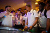 Stern Pinball, which is located in Elk Grove Village, Illinois, held a firendly competition between student-athletes from Buffalo and Charlotte during the Team Welcome Reception at the Atlantis Paradise Island Resort on Dec. 16, 2019. UB Linebacker Max Michel won the competition and picked which pinball machine would come home to Buffalo.<br /> <br /> Photographer: Meredith Forrest Kulwicki