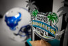 The trophy was on display before the start of the pregame press conference ahead of the Makers Wanted Bahamas Bowl at Thomas A. Robinson National Stadium on Dec. 19, 2019.<br /> <br /> Photographer: Meredith Forrest Kulwicki