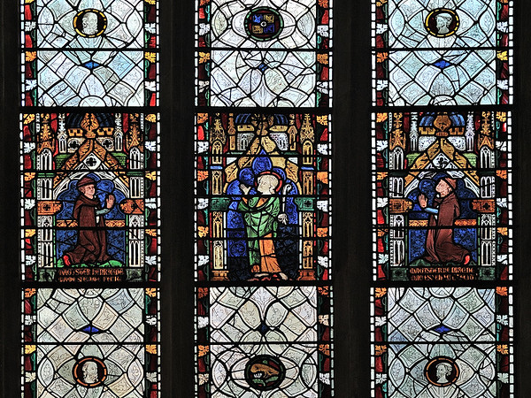 Stained-glass windows, Chapel