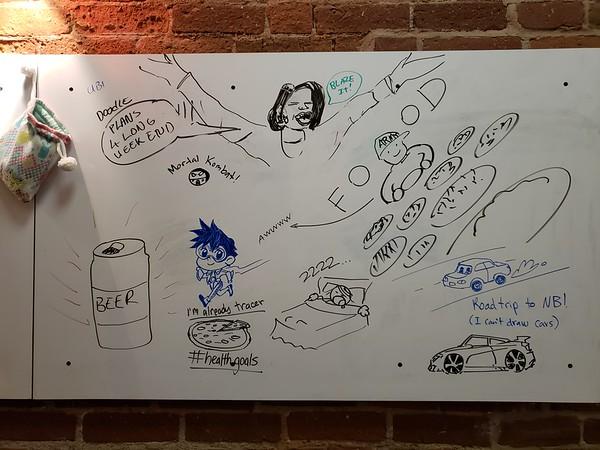 Ubi Doodle - Long Weekend Plans