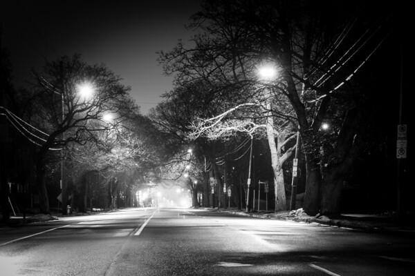 Quinpool At Night
