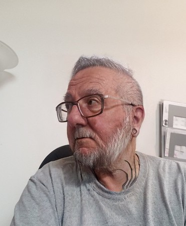 Old Man With Tattoos