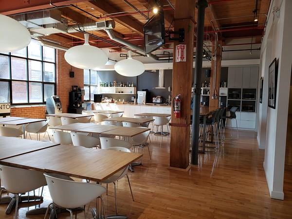 Ubisoft Toronto Lunchroom