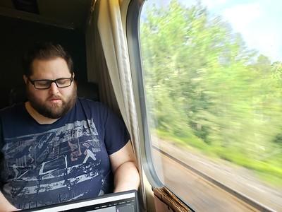 Train Ride Back To Toronto