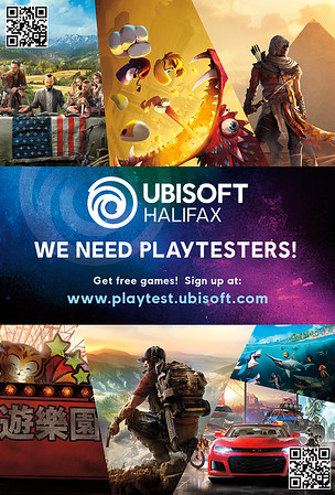 Playtester Recruitment Poster