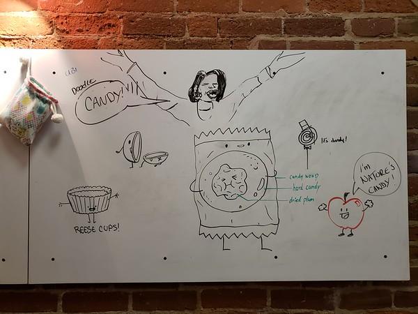 Ubi Doodle:  Candy