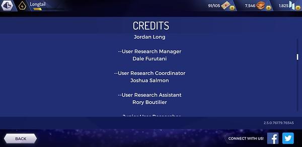 Assassin's Creed Rebellion Credits