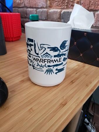 Warframe Mug At Work