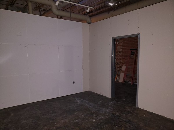 Walls Are Up