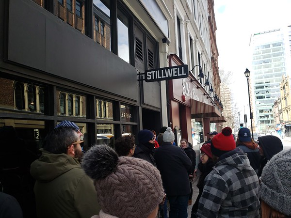 Waiting For Stillwell To Open