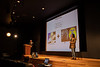 The Fourth Annual Three Minute Thesis Competition, hosted by the Graduate School and Blackstone LaunchPad. The presentations took place in the Screeen Room at CFA in March 2020. Presenter: Poonam Choudhary<br /> <br /> Photographer: Meredith Forrest Kulwicki