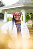 A portrait of Marian Thompson taken in Clinton, NY for University Advancement in September 2020.<br /> <br /> Photographer: Douglas Levere<br /> <br /> This image has been approved by UB's Office of Environment, Health and Safety to align with current (fall 2020) health and safety regulations during the COVID-19 pandemic.