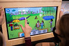 """A video game version of """"Sofia Learns About Research,"""" the children's activity and coloring book that presents research in a fun, age-appropriate way, has arrived at Explore & More ¬— The Ralph C. Wilson, Jr. Children's Museum in October 2020. It was created by researchers at UB's Clinical and Translational Science Institute (CTSI).<br /> <br /> Photographer: Meredith Forrest Kulwicki<br /> <br /> This image has been approved by UB's Office of Environment, Health and Safety to align with current (fall 2020) health and safety regulations during the COVID-19 pandemic."""
