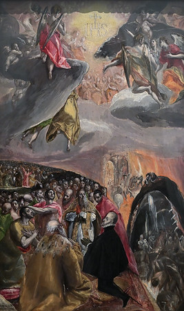 The Adoration of the Name of Jesus (c.1579-80) by El Greco