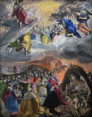 The Adoration of the Name of Jesus (c.1578-79) by El Greco
