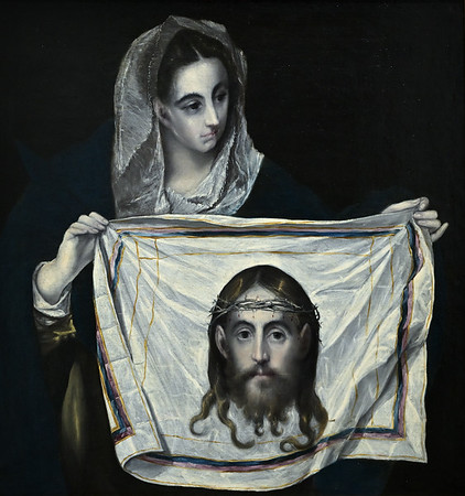 Veronica with the Holy Face (c.1580) by El Greco