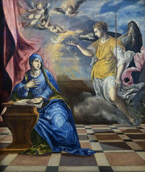 The Annunciation (c. 1576) by El Greco