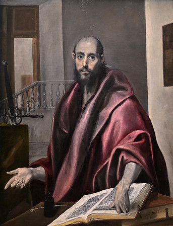 Saint Paul (c. 1585) by El Greco