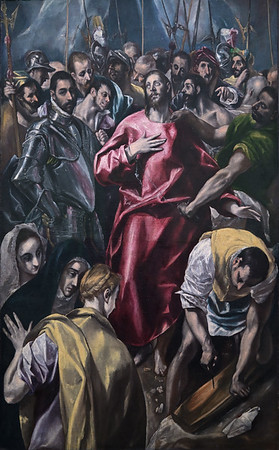 The Disrobing of Christ (El espolio) (c. 1580-85) by El Greco and workshop