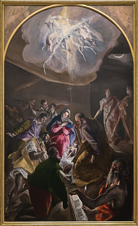 The Adoration of the Sheperds (c. 1579) by El Greco