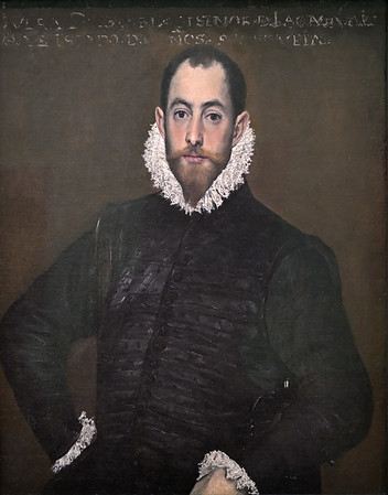 Portrait of a Gentleman from the Casa de Leiva (c. 1580) by El Greco