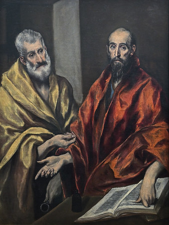 St Peter and St Paul (c. 1595-1600) by El Greco