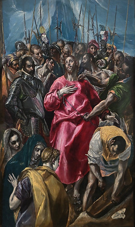 The Disrobing of Christ (El espolio) (c. 1579-80) by El Greco