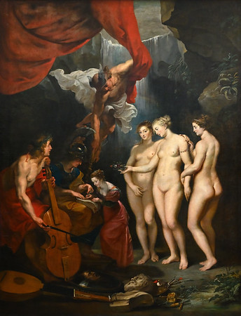 The Education of the Princess (1622-25) by Peter Paul Rubens
