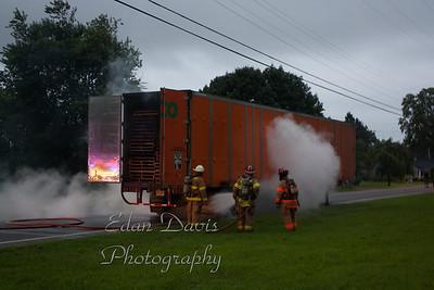 08-07-2011, Comm Vehicle, Upper Deerfield Twp. Cumberland County, Finley Rd.