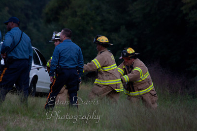 08-26-2011, Fatal MVC / Water Rescue, Glassboro, Gloucester County, Ellis Mill Rd. and Rt. 55