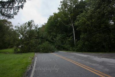 08-28-2011, Storm Damage, Hurricane Irene,