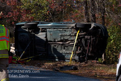 10-23-2011, MVC With Entrapment, Pittsgrove Twp. Sheep Pen Rd.