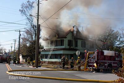 10-31-2011, 2 Alarm Dwelling, Milllville City, Cumberland County, 722 Wheaton Ave.