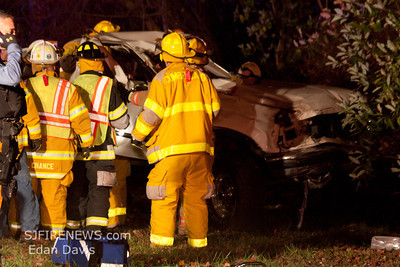 11-10-2011, MVC With Entrapment, Maurice River Twp, Rt. 49 and Hunters Mill Rd.