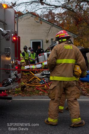 11-10-2011, MVC With Entrapment, Elk Twp. Gloucester County, IAO 325 Buck Rd.