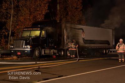 11-11-2011, Comm. Vehicle, Elmer, Salem County, Rt. 40 @ The Bridge