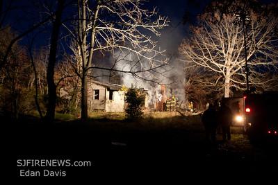 11-12-2011, Dwelling, Mizpah, Hamilton Twp, Atlantic County, 3rd Ave. and Mizpah Rd.