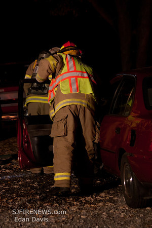 11-15-2011, Vehicle Fire, Upper Pittsgrove Twp. Salem County, Three Bridges Rd.