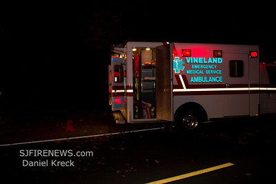 11-15-2011 MVC with Entrapment, Vineland, Cumberland County, Butler Ave. + Main Rd.