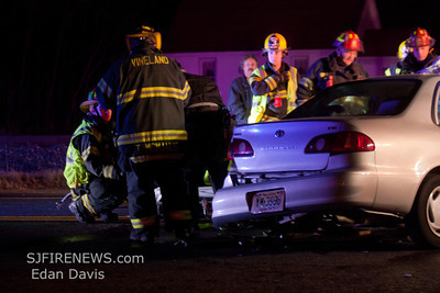 12-20-2011, MVC With Entrapment, Vineland City, Cumberland County, Weymouth Rd. and N. West. Blvd.